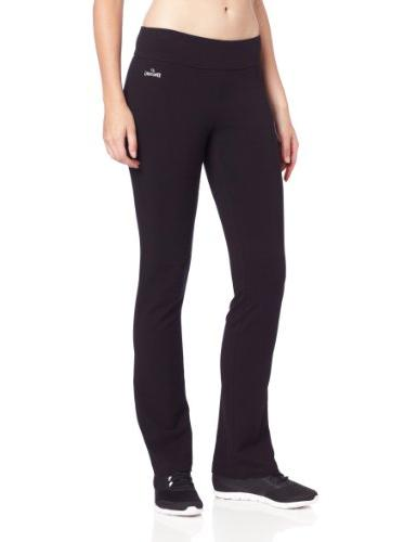 Spalding Women's Slim Fit Pant, Black, Small