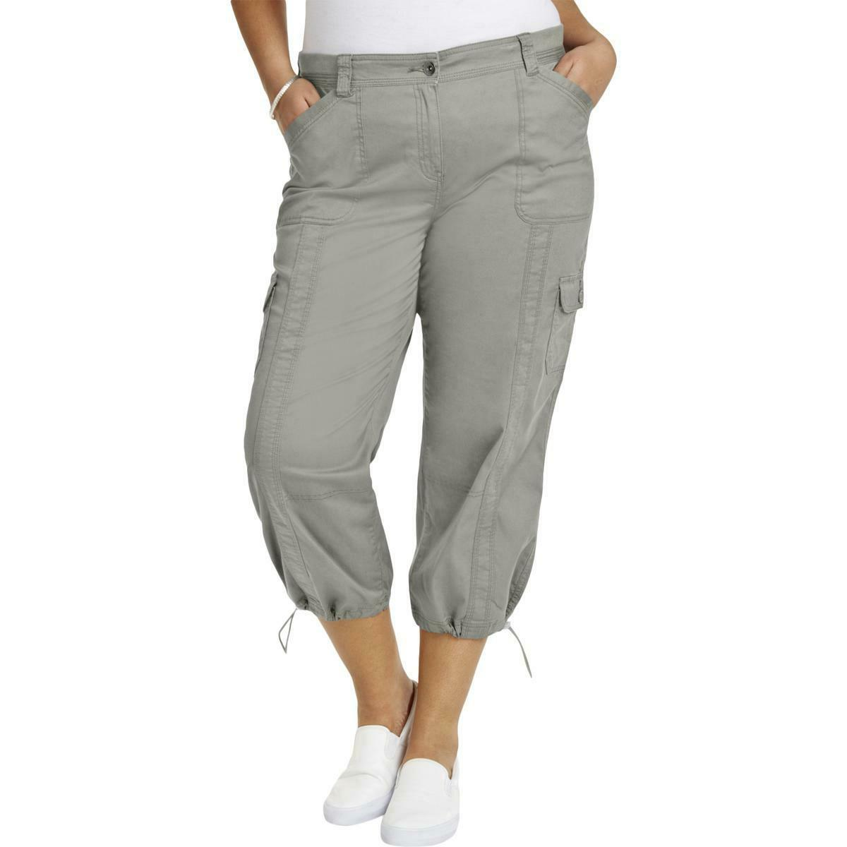 style and co women s plus capris