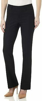 Rekucci Women's Ease in to Comfort Fit Barely Bootcut Stretc