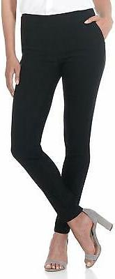 Rekucci Women's Ease in to Comfort Modern Stretch Skinny Pan