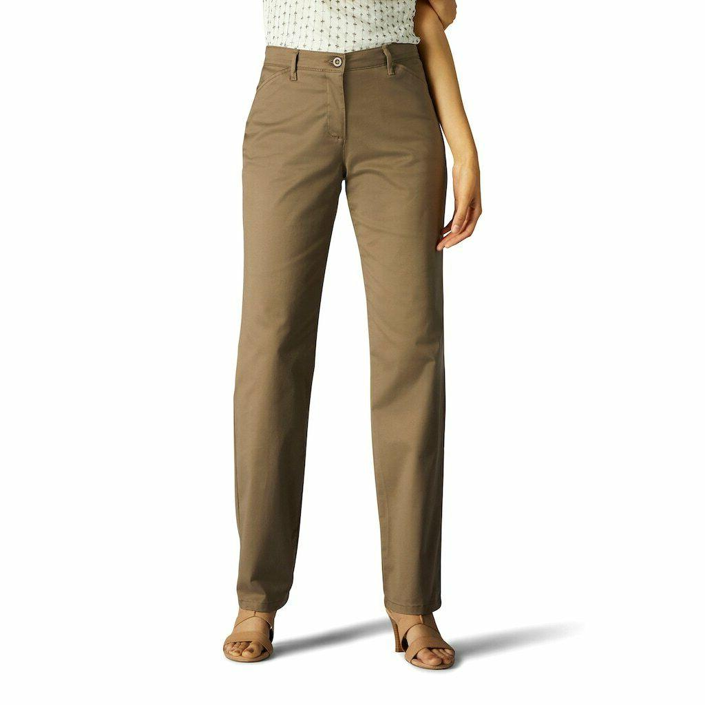 women s relaxed fit straight leg pants