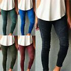 Women Skinny Pants High Waist Slim Stretch Trousers Leggings