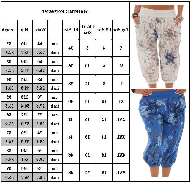 Womens Hippie Trousers Yoga Gypsy Loose Plus Size