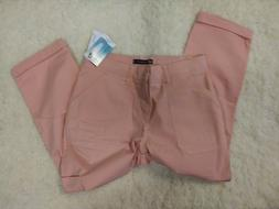 New Lee Relaxed Fit Crop/Capri Pants Women's Size 6 NWT
