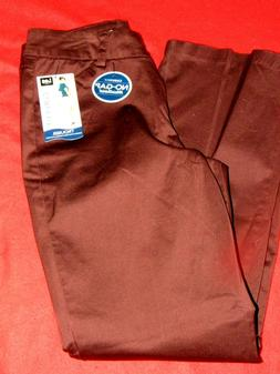 """""""NEW With Tags """"Women's Lee Curvy Fit Maroon Trouser/Pants S"""