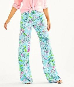 Lilly Pulitzer NEW Womens Size Large Bal Harbour Palazzo Pan