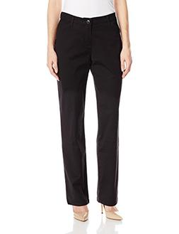 LEE Women's Relaxed Fit All Day Straight Leg Pant, Black, 16