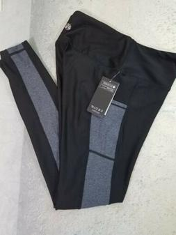 TSLA Tesla Women's Leggings Yoga Pants Side Pockets Small NW