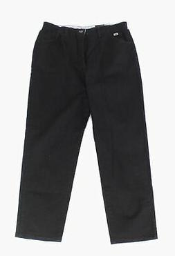 Lee Women's Pants Black Size 16 Relaxed-Fit Side Elastic Tap