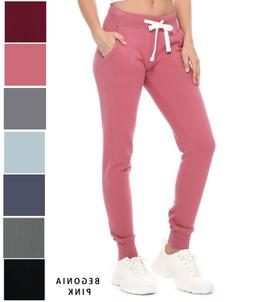Women Sweatpants Fleece Winter Thermal Thick Warm Lined Pant